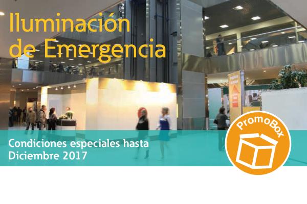 Campaña comercial iluminación de emergencia Eaton